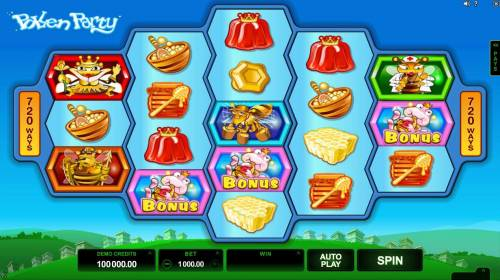 Pollen Party review on Review Slots