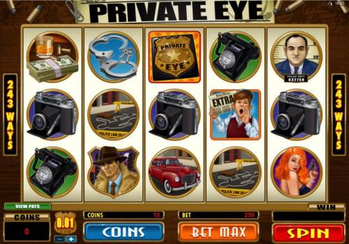 Private Eye review on Review Slots