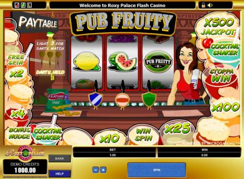 Pub Fruity review on Review Slots