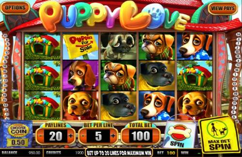 Puppy Love review on Review Slots