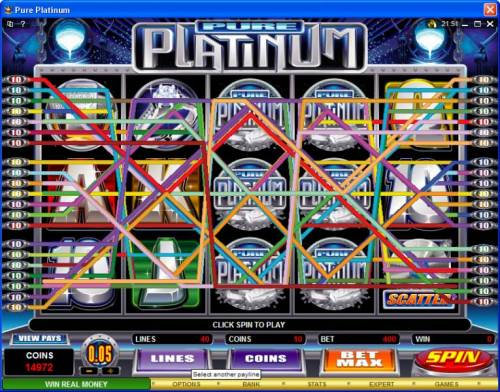 Pure Platinum review on Review Slots