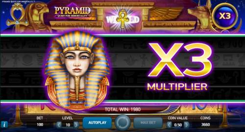 Pyramid Quest for Immortality review on Review Slots