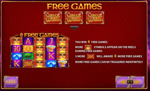 Queen of Wands review on Review Slots