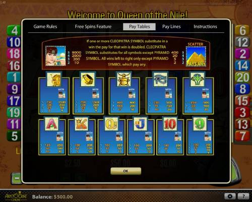 Online review of queen of the nile online video slot machine as well queen of the nile review slots slot game symbols paytable izmirmasajfo