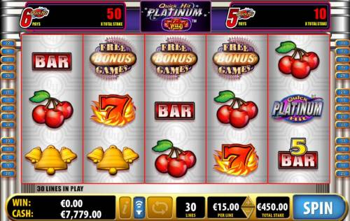 Quick Hit Platinum review on Review Slots