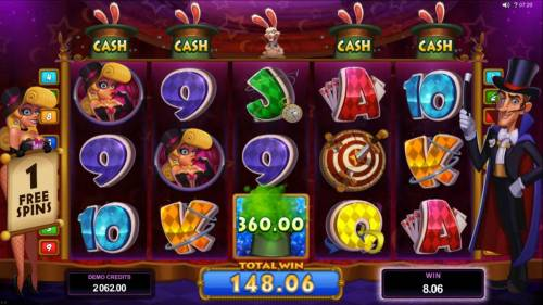 Rabbit in the Hat Review Slots A $360 cash prize awarded