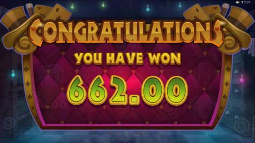 Rabbit in the Hat Review Slots The Magic hats feature pays out a total of $662 for a big win.