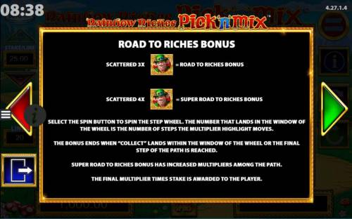 Rainbow Riches Pick n Mix review on Review Slots