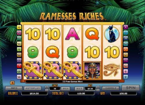 Ramesses Riches review on Review Slots