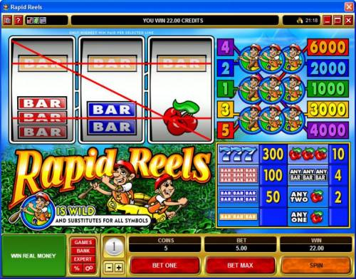 Rapid Reels review on Review Slots