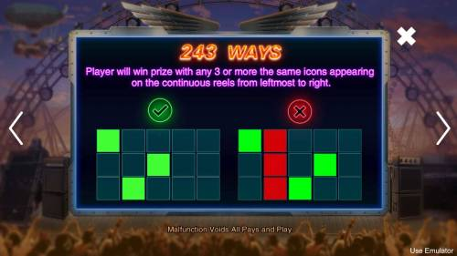 Rave High Review Slots 243 Ways to Win