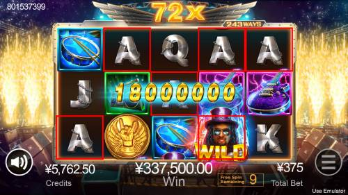 Rave High Review Slots Multiple winning combinations