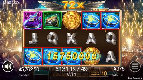 Rave High Review Slots Free Spins Game Board