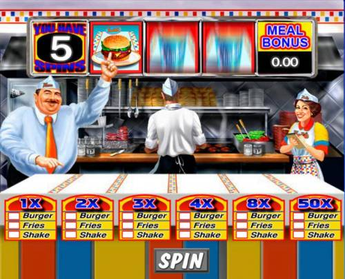 Reel Deal Diner Review Slots Free Spins Game Board