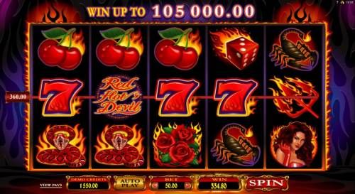 Red Hot Devil review on Review Slots
