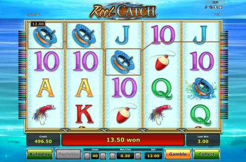 Reel Catch Review Slots Three of a Kind