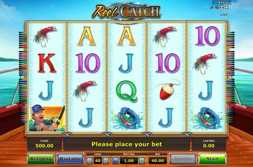 Reel Catch Review Slots Main Game Board