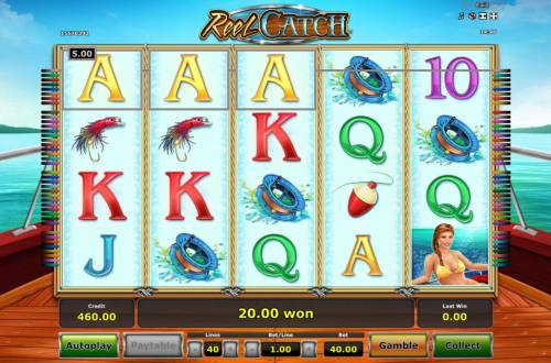 Reel Catch review on Review Slots
