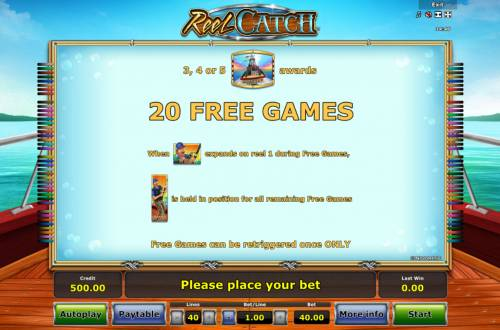 Reel Catch Review Slots Free Game Rules
