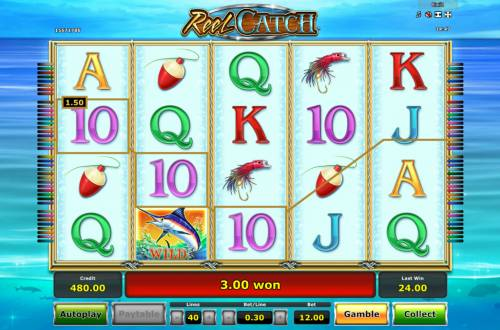 Reel Catch Review Slots Free Spins Game Board