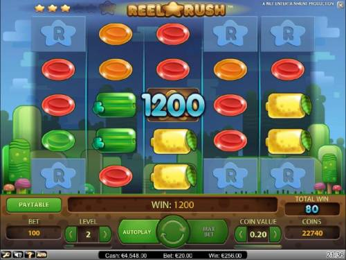 Reel Rush review on Review Slots