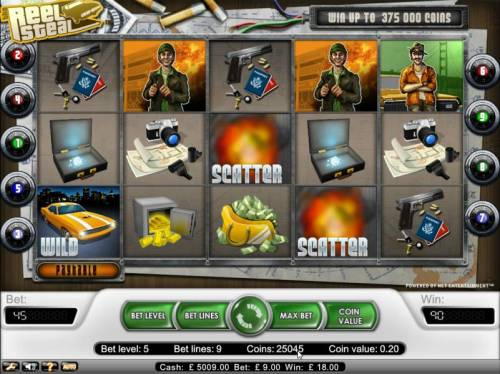 Reel Steal review on Review Slots