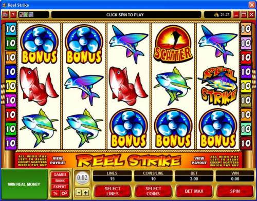 Reel Strike review on Review Slots