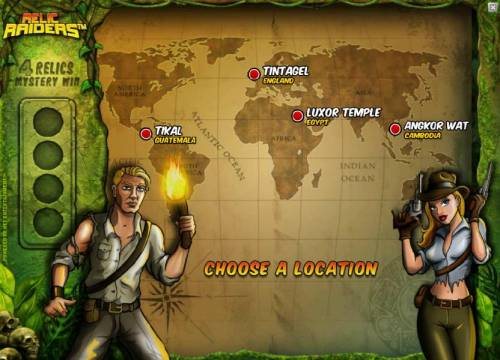 Relic Raiders Review Slots aelect a destination