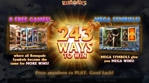 Renegades review on Review Slots