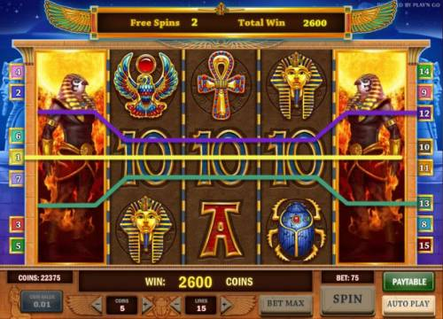Riches of Ra Review Slots three five of a kinds triggers a 2600 coin big win payout