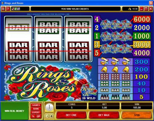 Rings & Roses review on Review Slots