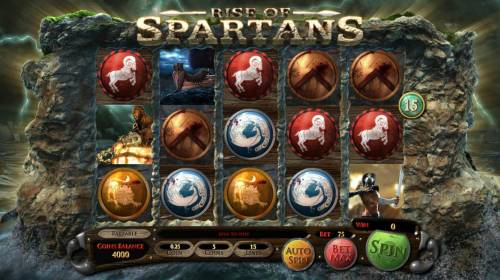 Rise of Spartans review on Review Slots