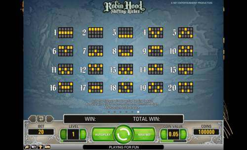 Robin Hood - Shifting Riches review on Review Slots