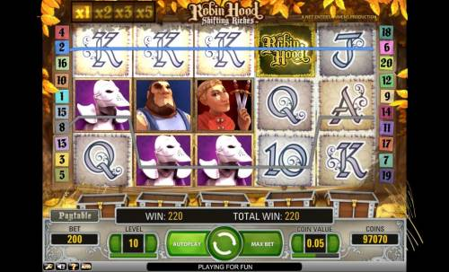 Robin Hood - Shifting Riches Review Slots Robin Hood Shifting Riches paylines