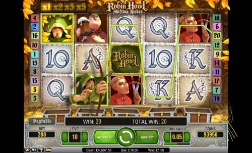 Robin Hood - Shifting Riches Review Slots Robin Hood Shifting Riches 220 credit jackpot win