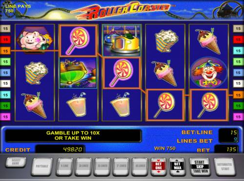 Roller Coaster Review Slots Four of a kind