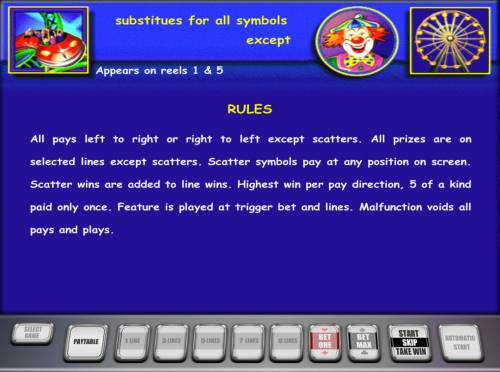 Roller Coaster Review Slots General Game Rules
