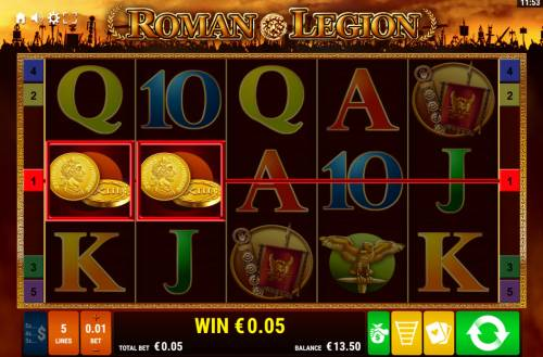 Roman Legion Review Slots Two of a Kind