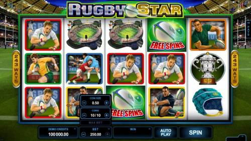 Rugby Star review on Review Slots