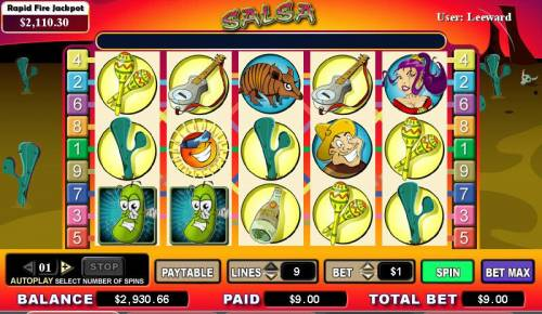 Salsa review on Review Slots