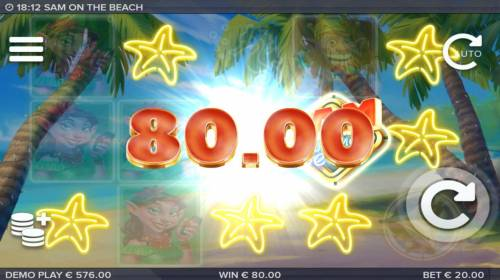 Sam on the Beach review on Review Slots