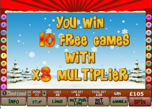 Santa Surprise Review Slots 10 free games with x3 multiplier are awarded