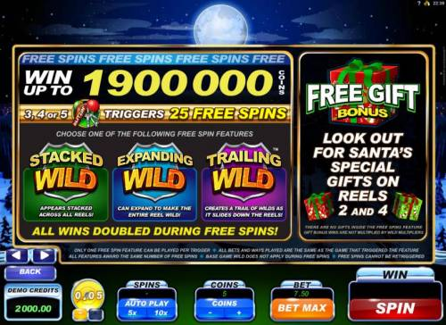 Santa's Wild Ride review on Review Slots
