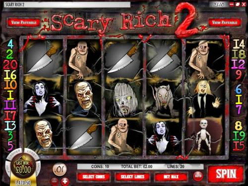 Scary Rich 2 review on Review Slots