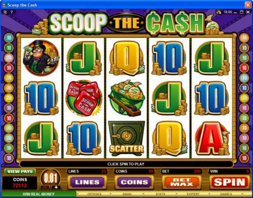 Scoop the Cash review on Review Slots