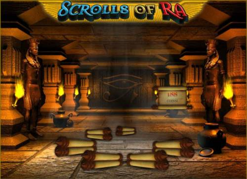 Scrolls of Ra Review Slots a 188 coin prize awarded for our first selection