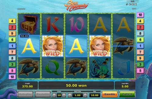 Sea Beauty Review Slots Four of a kind