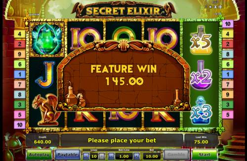 Secret Elixir Review Slots Total Free Spins Payout