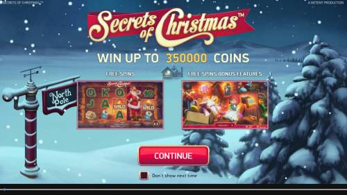 Secrets of Christmas review on Review Slots