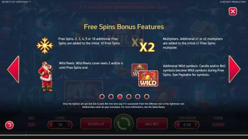 Secrets of Christmas Review Slots Free Spins Bonus Features